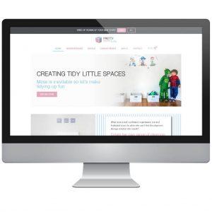 Pretty Neat Kids - Woocommerce Elementor WordPress Website Build